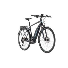 Cube Touring Hybrid Pro 500 Elcykel Trekking blå